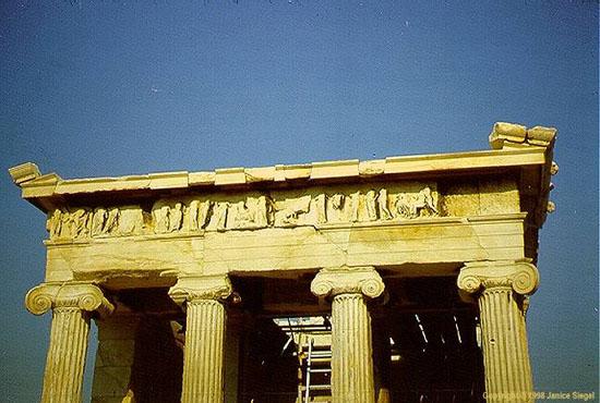 Athena Nike, ngôi đền của thần chiến thắng