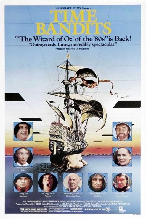 Time Banditslà một bộ phim giả tưởng doTerry Gilliamsản xuất và đạo diễn. Phim có sự tham gia củaJim Broadbent, Ian Holm, Peter Vaughan, Katherine Helmond, Michael PalinvàJack Purvis.