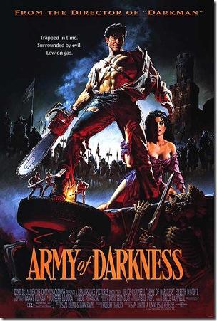 Army of Darkness(còn gọi làEvil Dead III hayThe Medieval Dead) là bộ phim trộn lẫn giữa hài, khoa học viễn tưởng và kinh dị. Đồng thời là phần thứ ba của series Evil DeaddoSam Raimiđạo diễn với sự tham gia củaBruce CampbellvàEmbeth Davidtz.