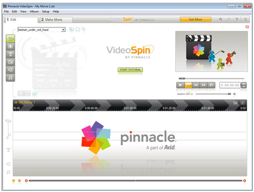 pinnacle videospin