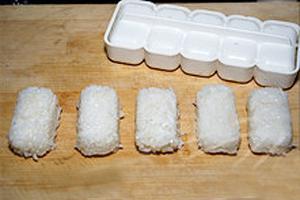 Image result for cơm nắm lươn kiểu nhât