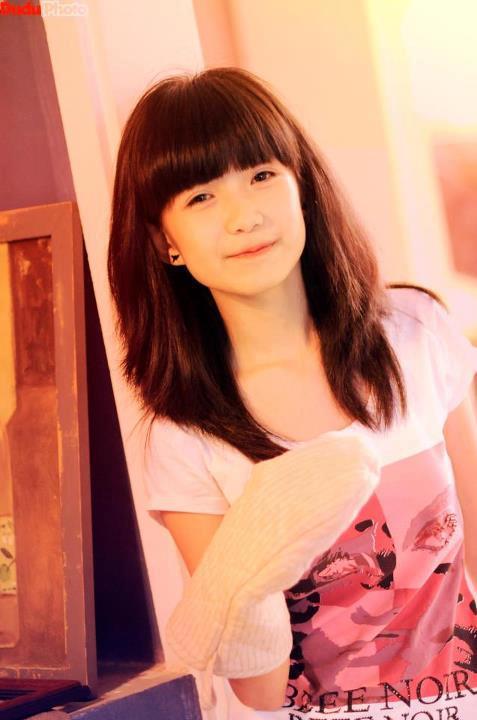 Nữ sinh Hà Nội gây sốt vì gương mặt xinh như búp bê 5