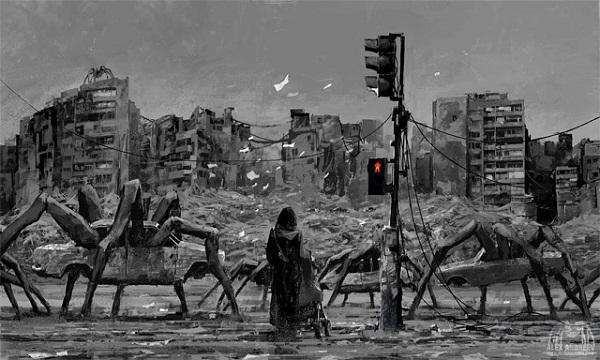 Ác mộng thế giới điêu tàn qua tranh giả tưởng 4