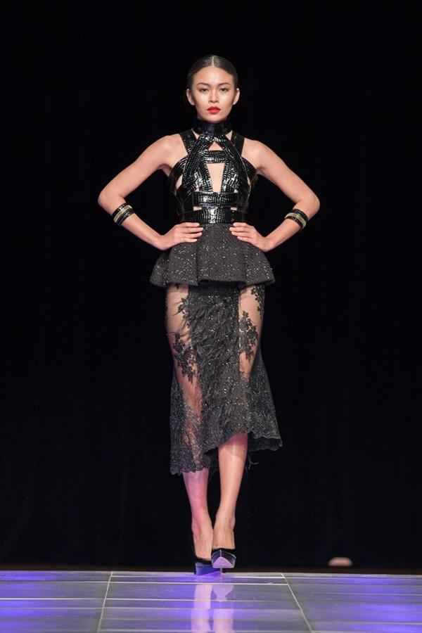 Tuyết Lan làm vedette trong show của Lý Quí Khánh tại New York Fashion Week 2015 31