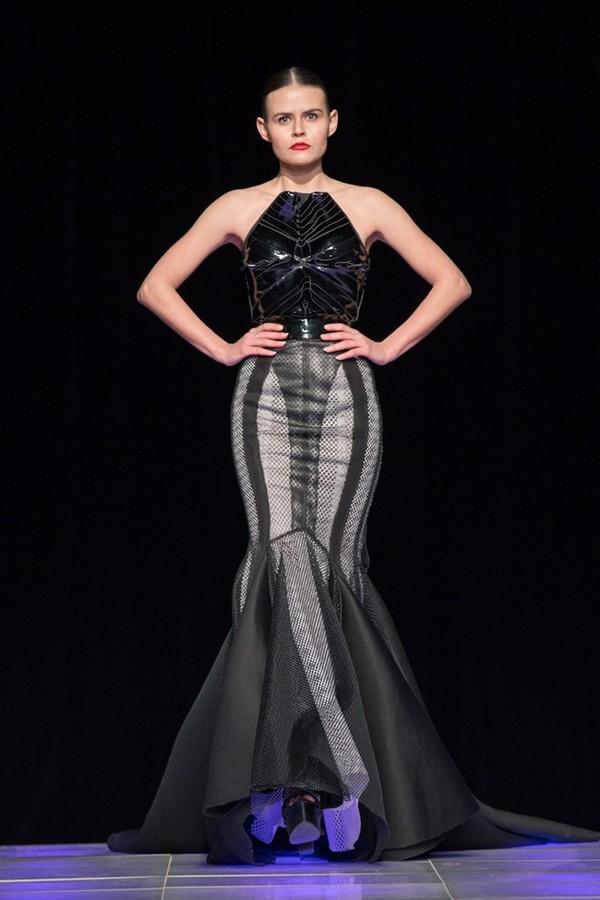 Tuyết Lan làm vedette trong show của Lý Quí Khánh tại New York Fashion Week 2015 34