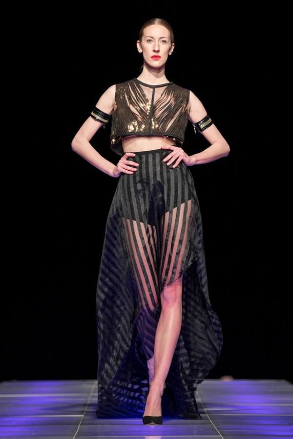 Tuyết Lan làm vedette trong show của Lý Quí Khánh tại New York Fashion Week 2015 39