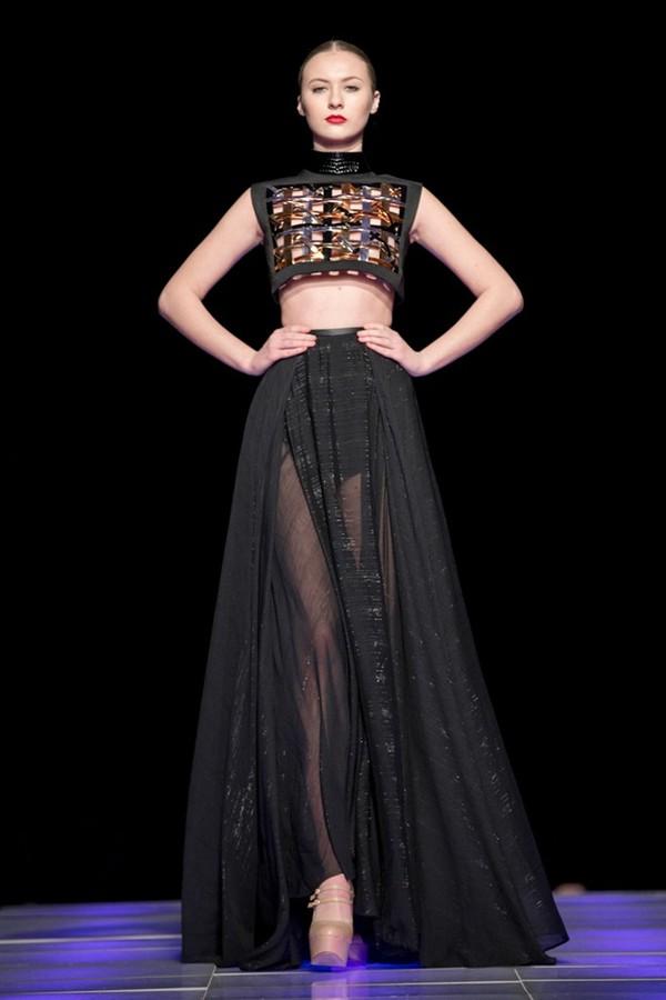 Tuyết Lan làm vedette trong show của Lý Quí Khánh tại New York Fashion Week 2015 40
