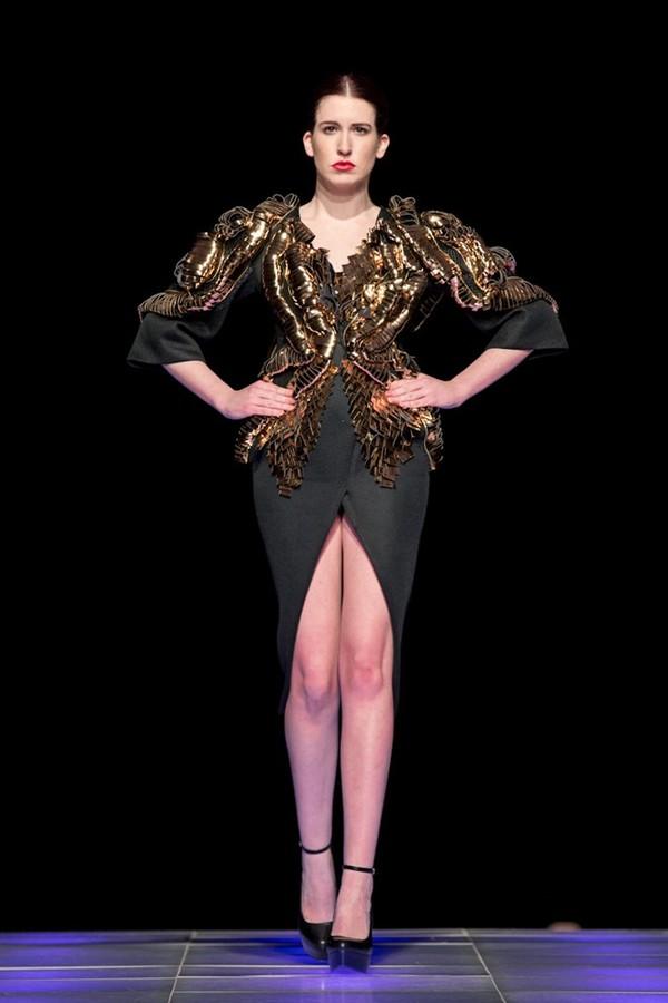 Tuyết Lan làm vedette trong show của Lý Quí Khánh tại New York Fashion Week 2015 41