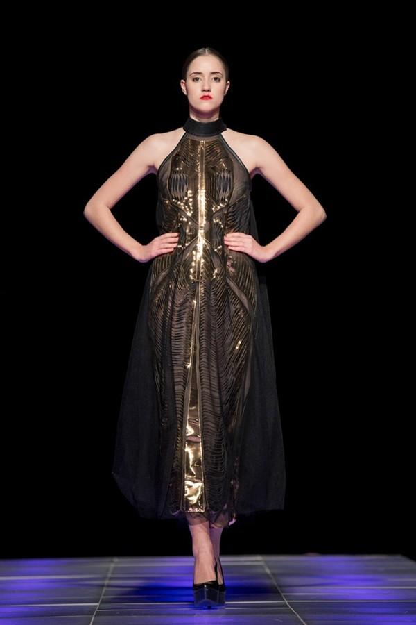 Tuyết Lan làm vedette trong show của Lý Quí Khánh tại New York Fashion Week 2015 42