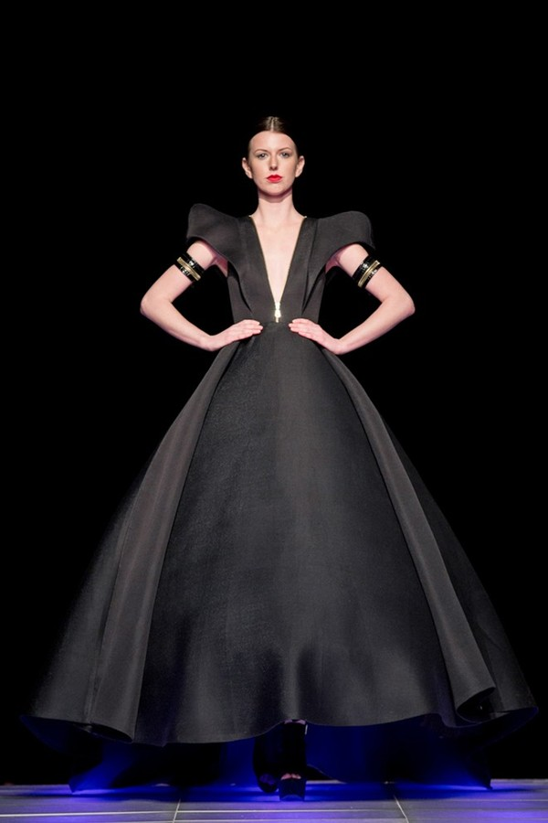 Tuyết Lan làm vedette trong show của Lý Quí Khánh tại New York Fashion Week 2015 43