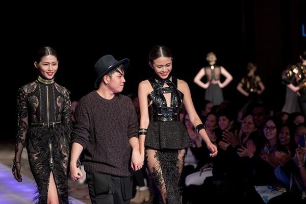 Tuyết Lan làm vedette trong show của Lý Quí Khánh tại New York Fashion Week 2015 45