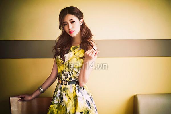Mùa thu đa phong cách cùng Hà Min