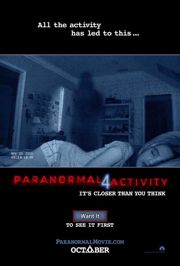 """""""Paranormal Activity"""" lại rục rịch phần mới 3"""