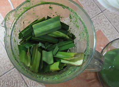 Bánh trôi tàu lá dứa xanh mướt ngọt lịm 3