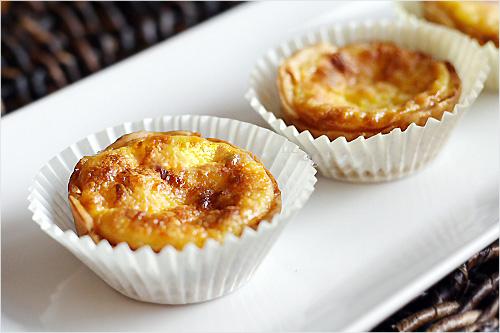 Bánh tart trứng mềm mịn giòn tan chào ngày mới 9