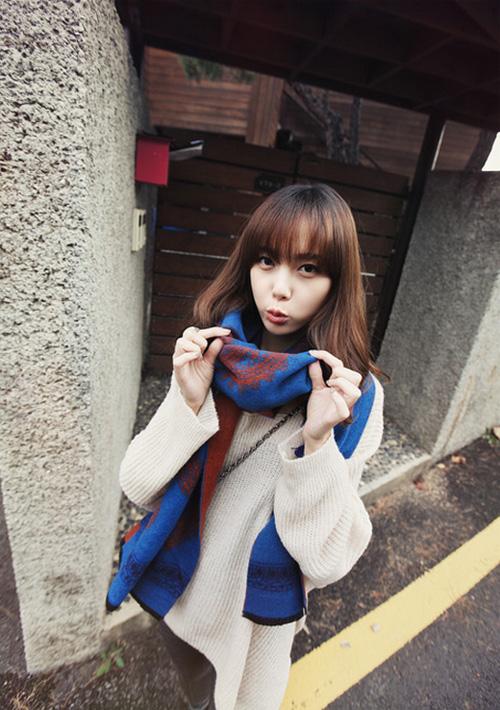 Học nhanh vài tip mix đồ Thu/Đông từ Jiyeon (T-ara) 48