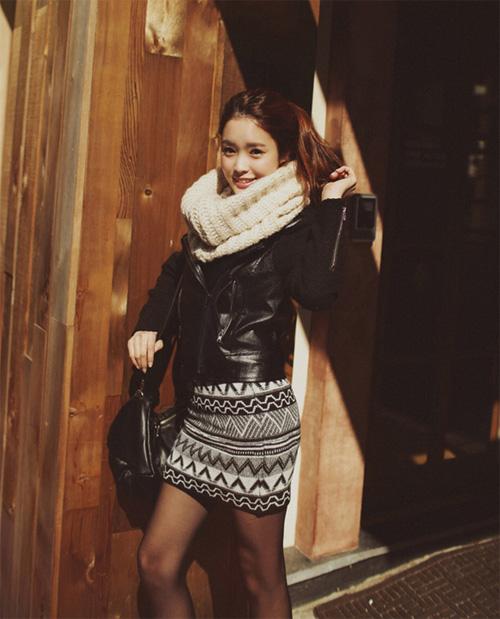 Học nhanh vài tip mix đồ Thu/Đông từ Jiyeon (T-ara) 49