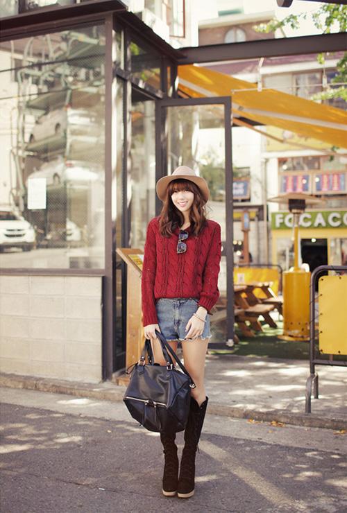 Học nhanh vài tip mix đồ Thu/Đông từ Jiyeon (T-ara) 29