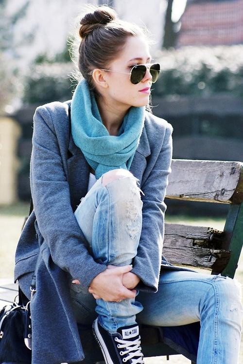 9 mẫu khăn tiện dụng ai cũng cần cho mùa lạnh 6