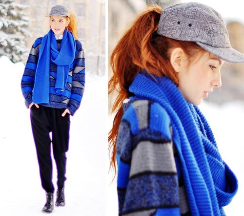 9 mẫu khăn tiện dụng ai cũng cần cho mùa lạnh 12
