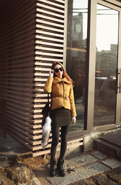 Học cách mix áo phao cực chất cho những ngày lạnh mưa gió 9