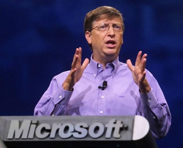 Bill Gates – Người dũng cảm theo đuổi đam mê