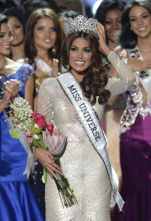 Cận cảnh nhan sắc xinh đẹp của Miss Universe 2013 2
