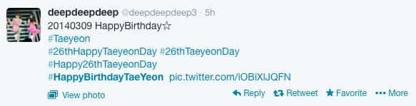 Sooyoung (SNSD) đăng ảnh Taeyeon xinh đẹp thổi nến mừng sinh nhật 7