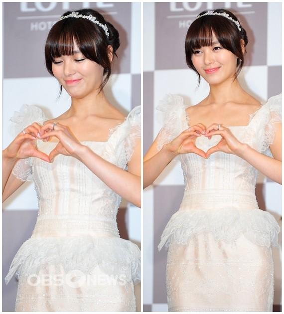 Idol Hàn xúng xính dự đám cưới như mơ của Sunye (WGs) 19