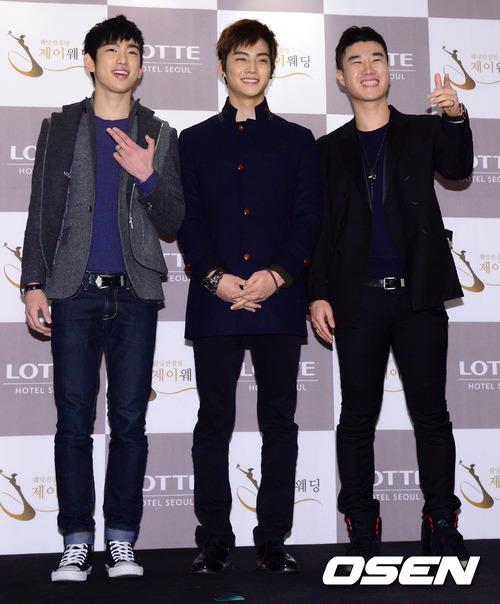 Idol Hàn xúng xính dự đám cưới như mơ của Sunye (WGs) 9