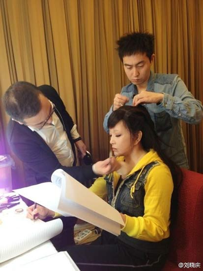 U60 Lưu Hiểu Khánh khoe ảnh hậu trường trẻ đến kinh ngạc 2