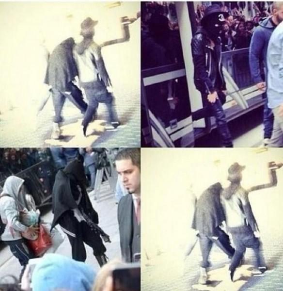 Justin và Selena cùng rời khách sạn ở Thụy Điển 1
