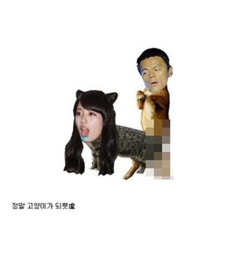 Thủ phạm photoshop ảnh bôi nhọ Suzy , Park Jin Young bị bắt 1
