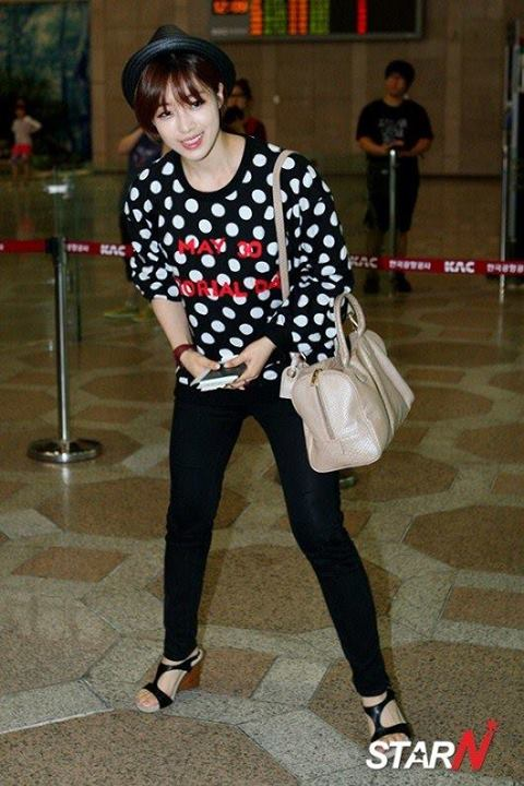T-ara rạng rỡ tại sân bay sau khi Areum rời nhóm 1