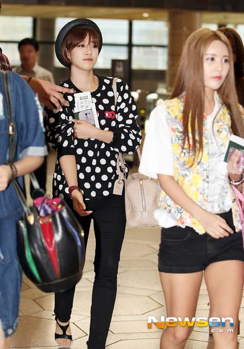 T-ara rạng rỡ tại sân bay sau khi Areum rời nhóm 2