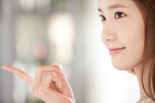 Ảnh hậu trường chưa chỉnh sửa đẹp long lanh của Yoona (SNSD) 1