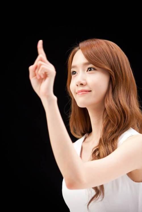 Ảnh hậu trường chưa chỉnh sửa đẹp long lanh của Yoona (SNSD) 3