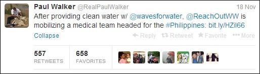 Cuộc đời đầy ý nghĩa bên ngoài màn ảnh của Paul Walker 12