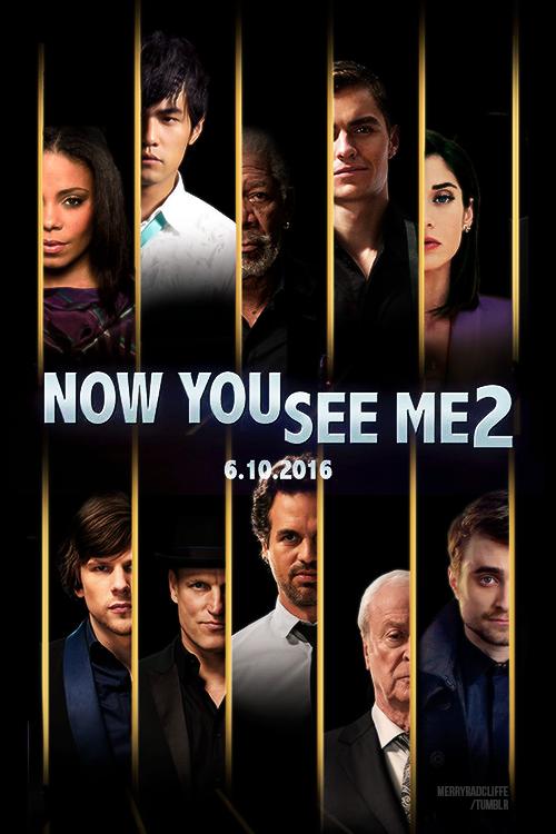 """Phù thủy"" Daniel Radcliffe lộ diện trong ""Now You See Me 2"" 3"