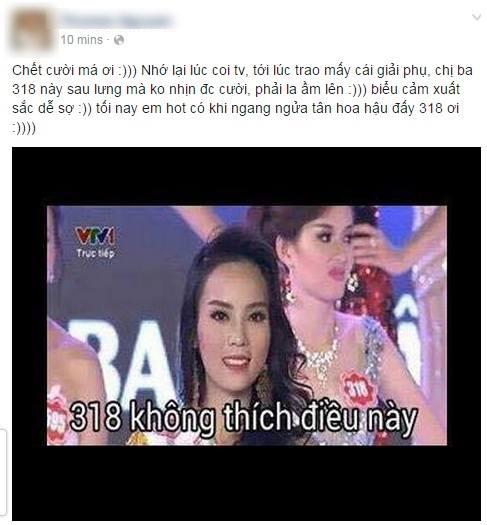 Dân mạng thi nhau chế ảnh vì sự trùng tên giữa MC và Hoa hậu Nguyễn Cao Kỳ Duyên 6