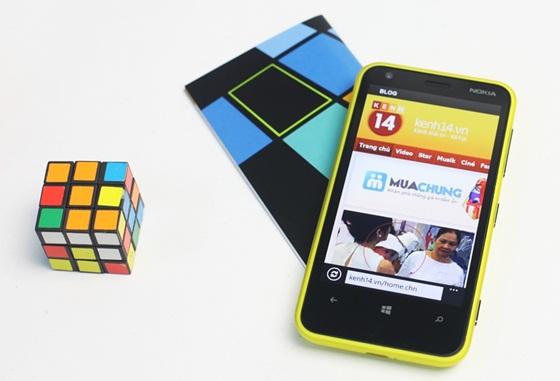 Trên tay Nokia Lumia 620 - Windows Phone 8 giá rẻ 15