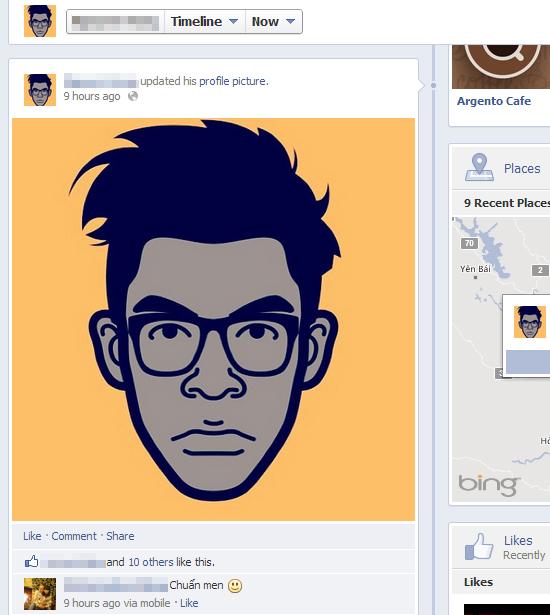 "iMadeFace - Trào lưu avatar ""độc"" trên Facebook 1"