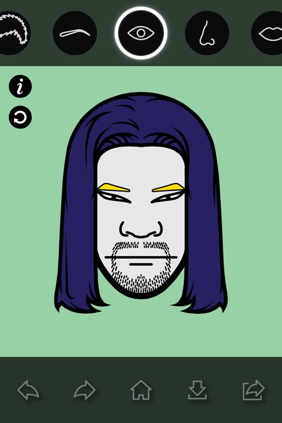 "iMadeFace - Trào lưu avatar ""độc"" trên Facebook 9"
