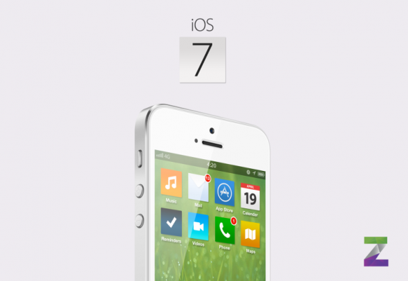 Bản concept iOS 7 với thiết kế phẳng vô cùng đẹp mắt 1