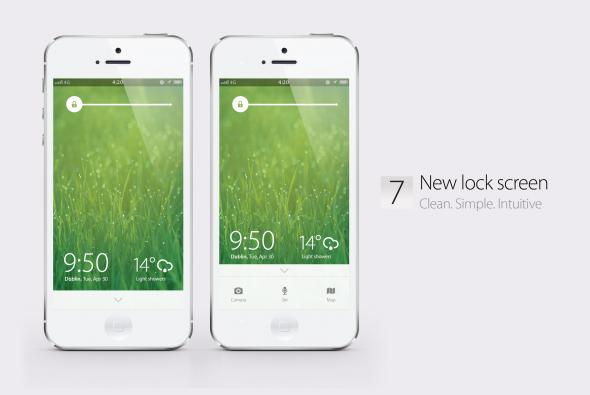 Bản concept iOS 7 với thiết kế phẳng vô cùng đẹp mắt 5