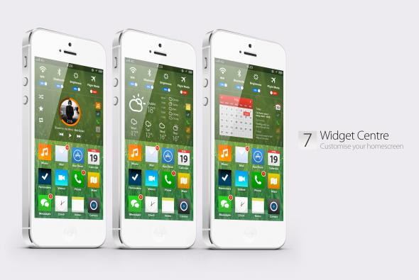 Bản concept iOS 7 với thiết kế phẳng vô cùng đẹp mắt 6