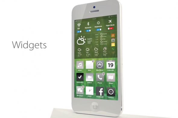Bản concept iOS 7 với thiết kế phẳng vô cùng đẹp mắt 7