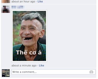 Trào lưu comment bằng ảnh tràn ngập Facebook 7