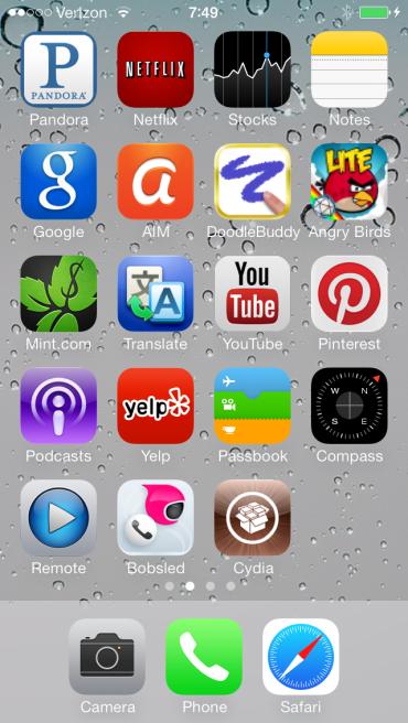 Bản jailbreak iOS 7 chính thức ra mắt 4