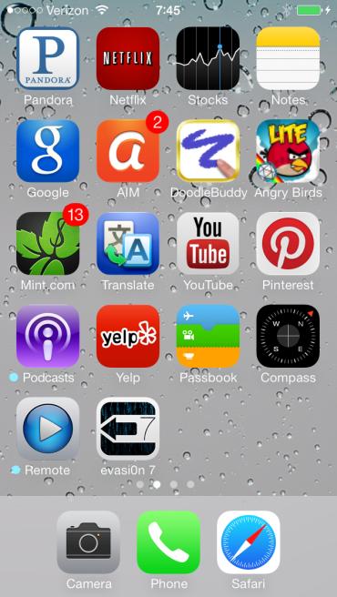 Bản jailbreak iOS 7 chính thức ra mắt 3